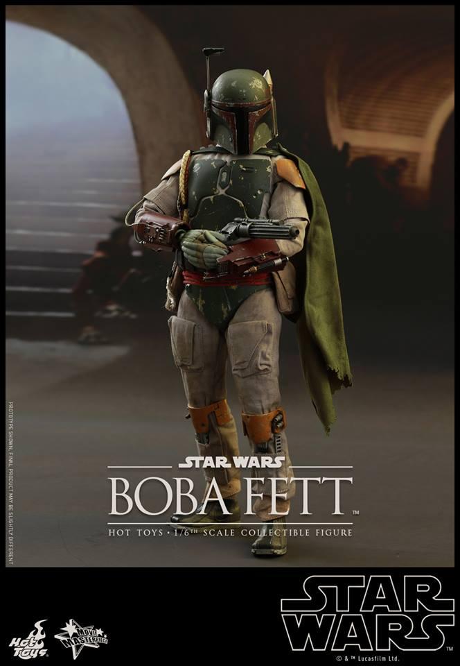 HOT TOYS - SW : Ep VI Return Of The Jedi - Boba Fett (Exclu) 11866310