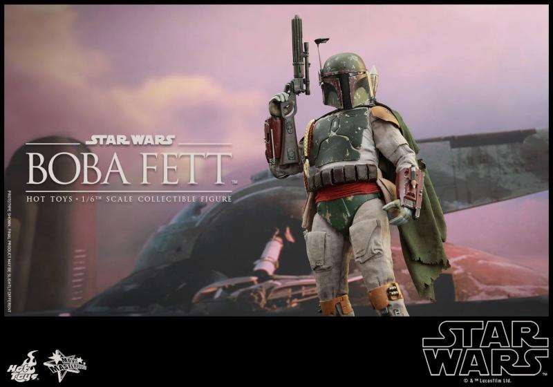 HOT TOYS - SW : Ep VI Return Of The Jedi - Boba Fett (Exclu) 11875010