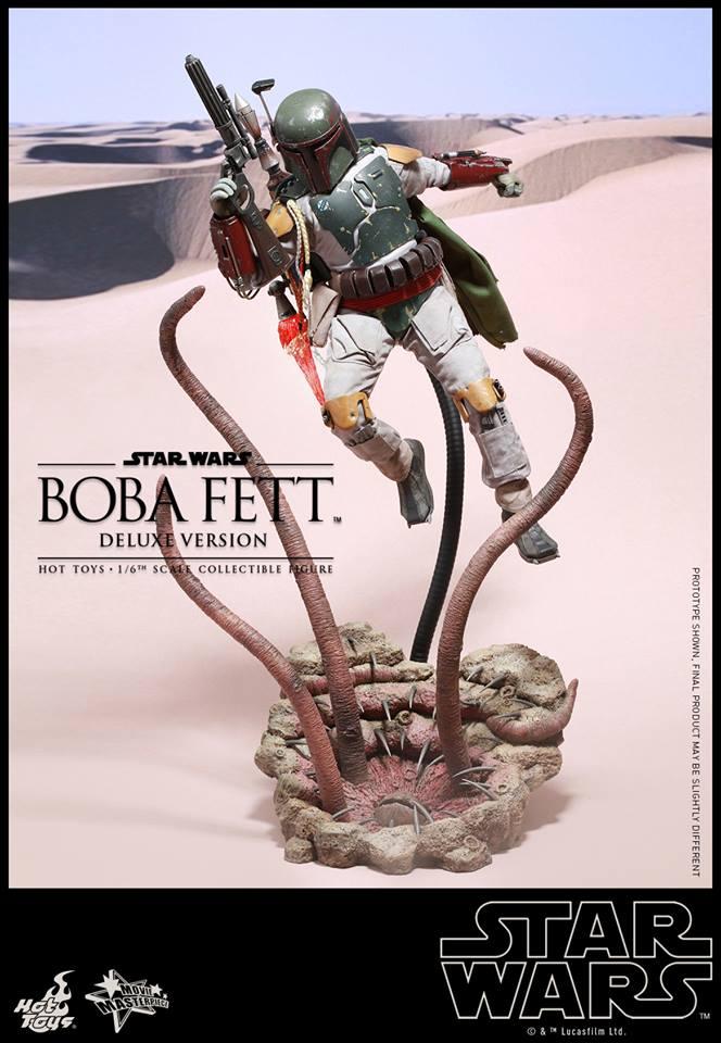 HOT TOYS - SW : Ep VI Return Of The Jedi - Boba Fett (Exclu) 11880510