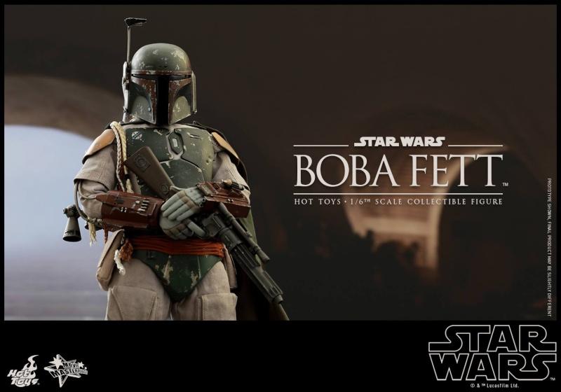 HOT TOYS - SW : Ep VI Return Of The Jedi - Boba Fett (Exclu) 11884610