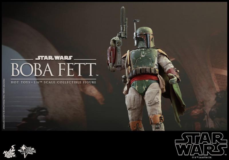 HOT TOYS - SW : Ep VI Return Of The Jedi - Boba Fett (Exclu) 11885010