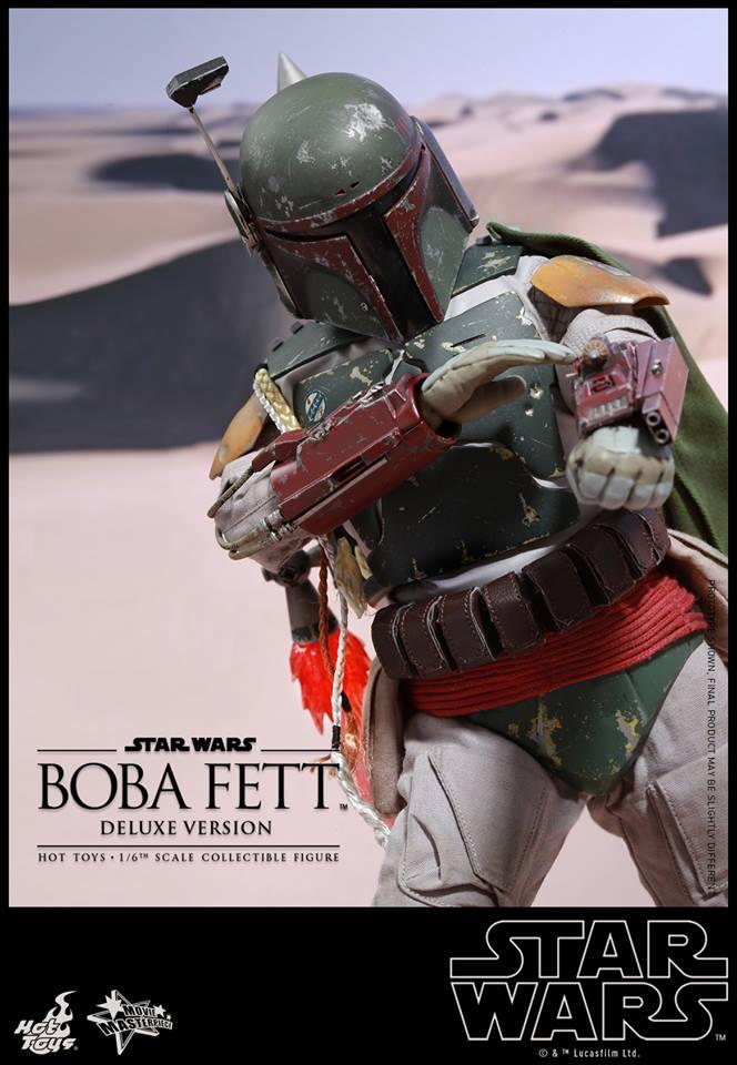 HOT TOYS - SW : Ep VI Return Of The Jedi - Boba Fett (Exclu) 11892110