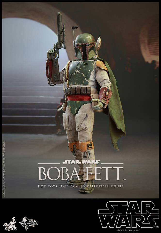 HOT TOYS - SW : Ep VI Return Of The Jedi - Boba Fett (Exclu) 11898610