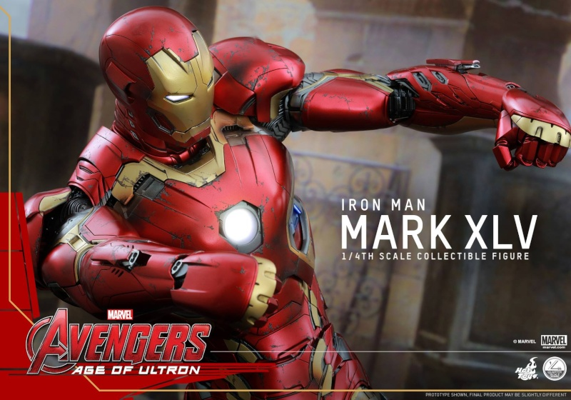 HOT TOYS - Avengers: Age of Ultron - Mark XLV 1/4 scale 16143210