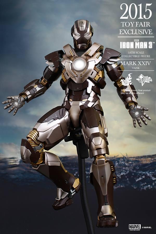 HOT TOYS -  Iron Man 3 - Tank (Mark XXIV) TF2015 T10
