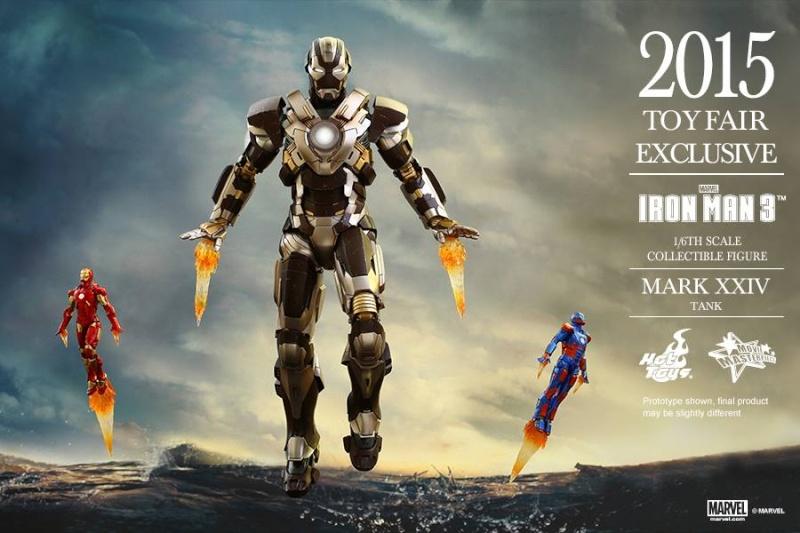 HOT TOYS -  Iron Man 3 - Tank (Mark XXIV) TF2015 T1010