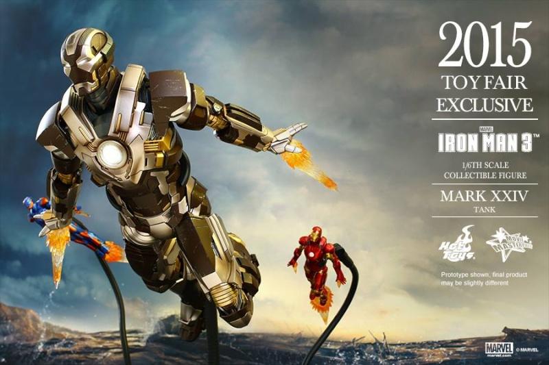 HOT TOYS -  Iron Man 3 - Tank (Mark XXIV) TF2015 T1110