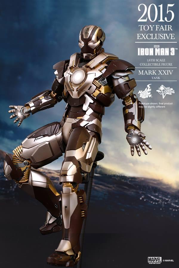 HOT TOYS -  Iron Man 3 - Tank (Mark XXIV) TF2015 T211