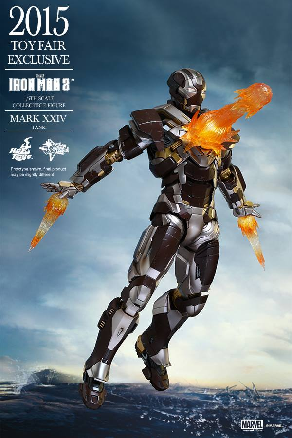 HOT TOYS -  Iron Man 3 - Tank (Mark XXIV) TF2015 T311