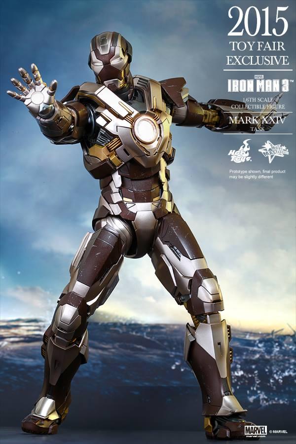 HOT TOYS -  Iron Man 3 - Tank (Mark XXIV) TF2015 T510