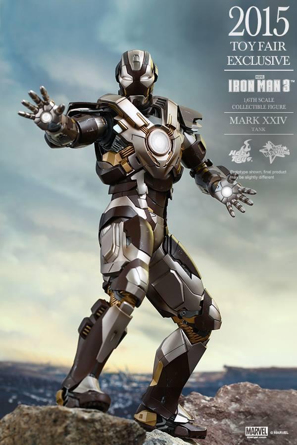 HOT TOYS -  Iron Man 3 - Tank (Mark XXIV) TF2015 T610