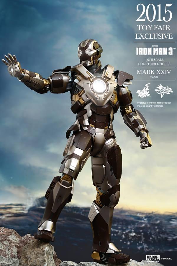 HOT TOYS -  Iron Man 3 - Tank (Mark XXIV) TF2015 T810