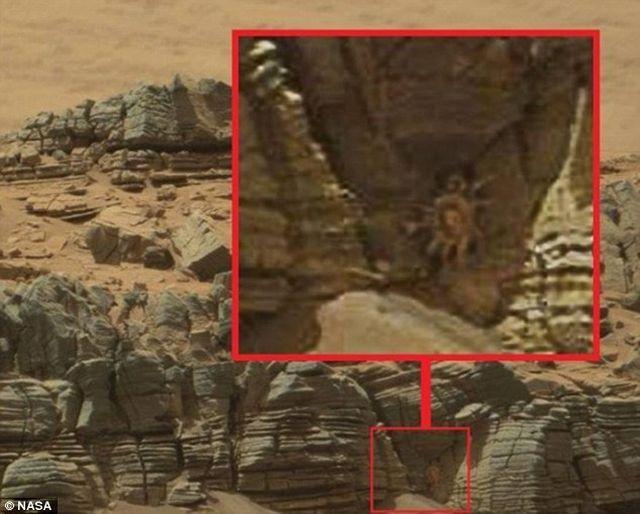 Një imazh gaforreje fotografohet në planetin Mars 154c1f10