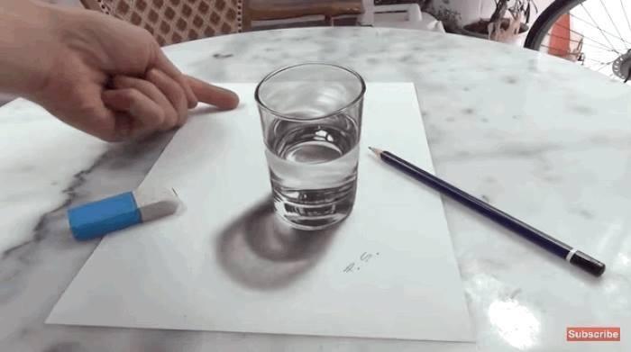 Piktura ne 3D Gota_m10