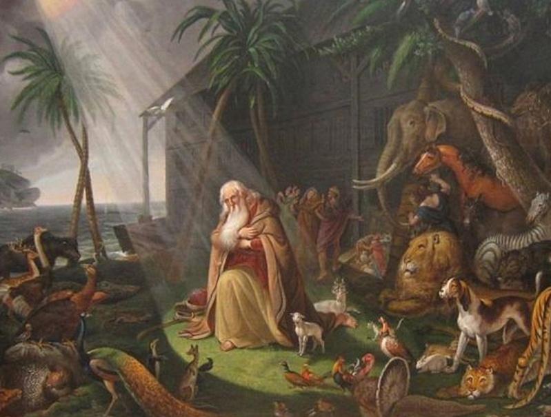 Ngjashmëri befasuese mes legjendës hindu të përmbytjes së madhe, dhe rrëfimit biblik për Noen Screen13