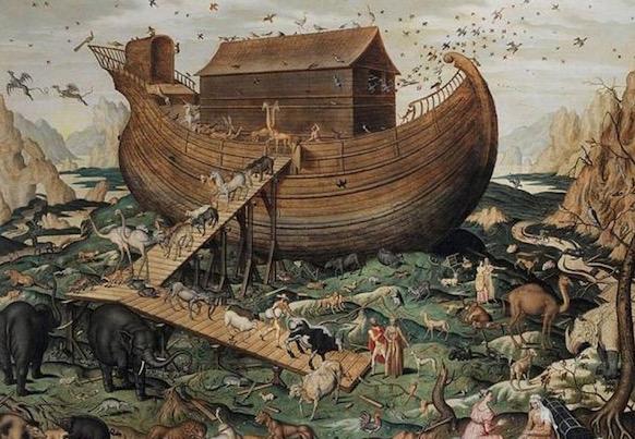 Ngjashmëri befasuese mes legjendës hindu të përmbytjes së madhe, dhe rrëfimit biblik për Noen Screen14