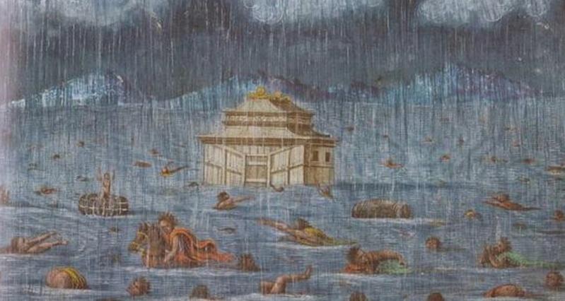 Ngjashmëri befasuese mes legjendës hindu të përmbytjes së madhe, dhe rrëfimit biblik për Noen Screen15