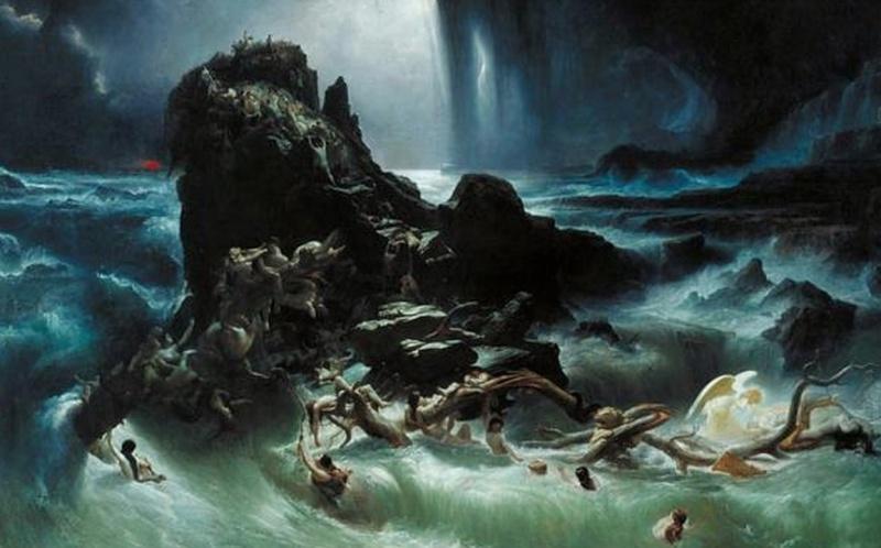Ngjashmëri befasuese mes legjendës hindu të përmbytjes së madhe, dhe rrëfimit biblik për Noen Screen16