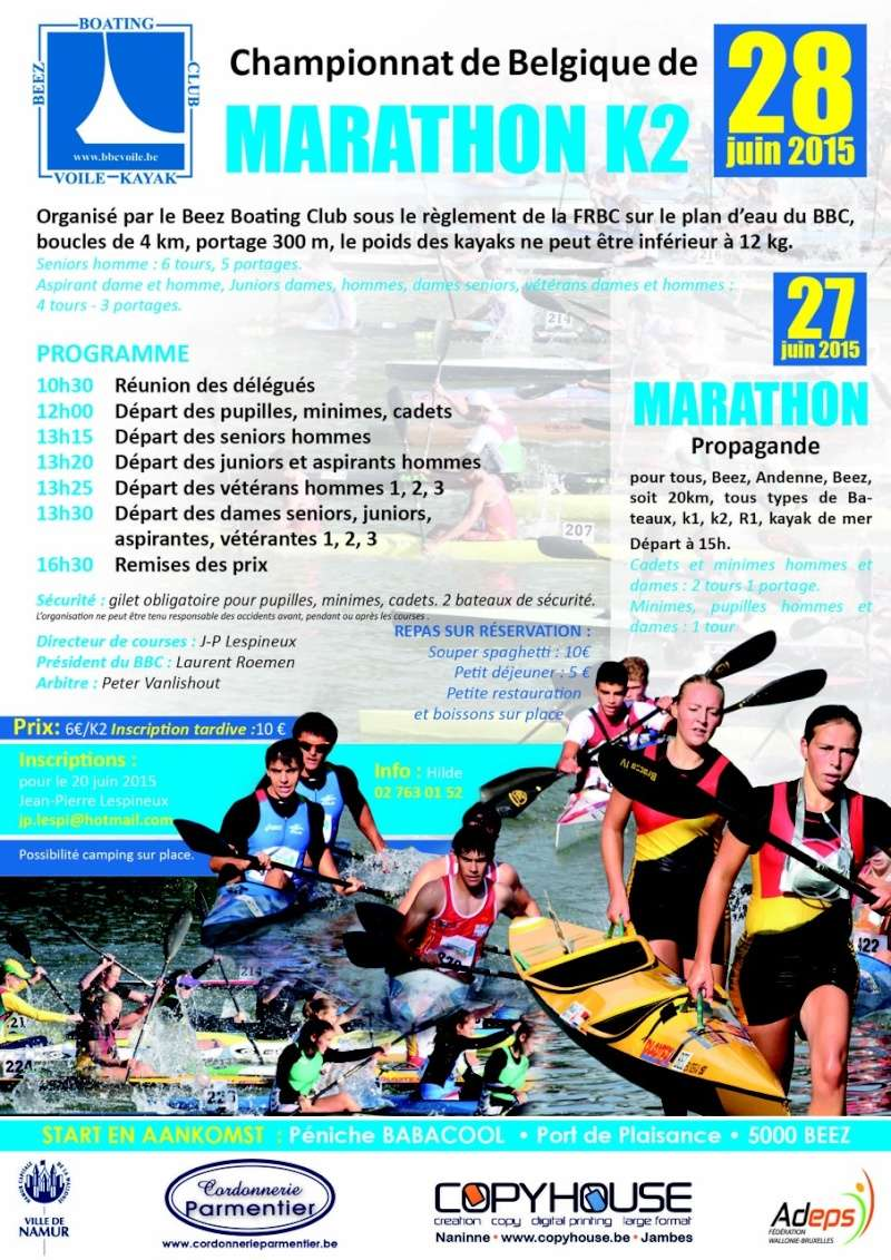 28/06/2015 Marathon K2 Beez Boating club Marath10