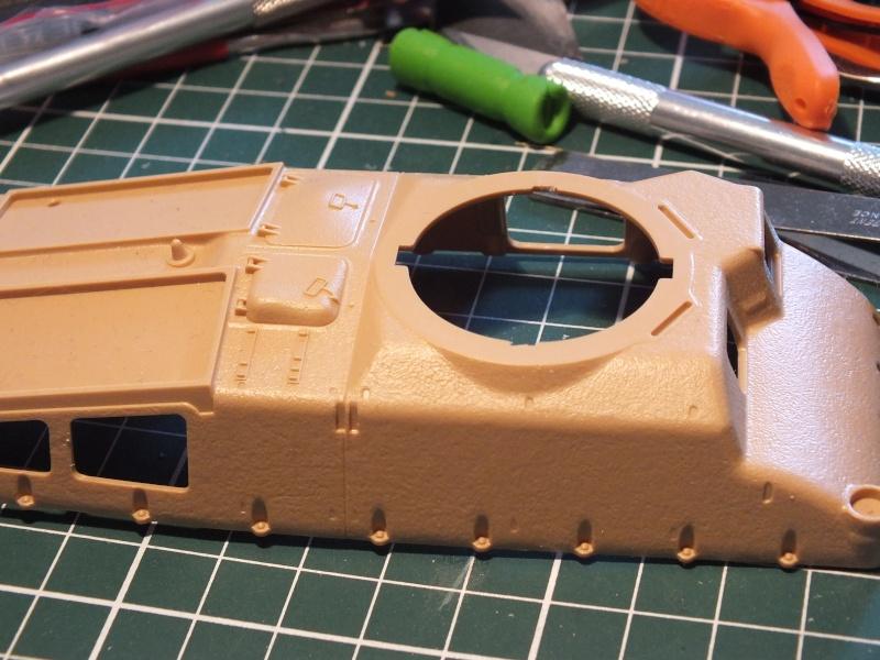Somua S35 Tamiya 1/35 (déco Beute Panzer) réf.35344 montage terminé Dscf8029