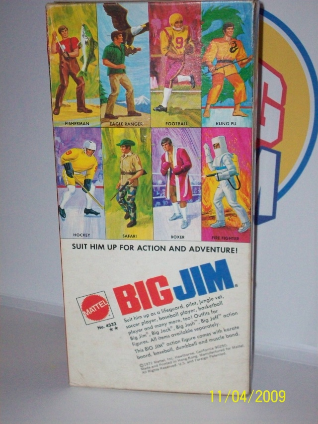 BIG JIM  No. 4332 - seconda versione a Box largo -  B1410