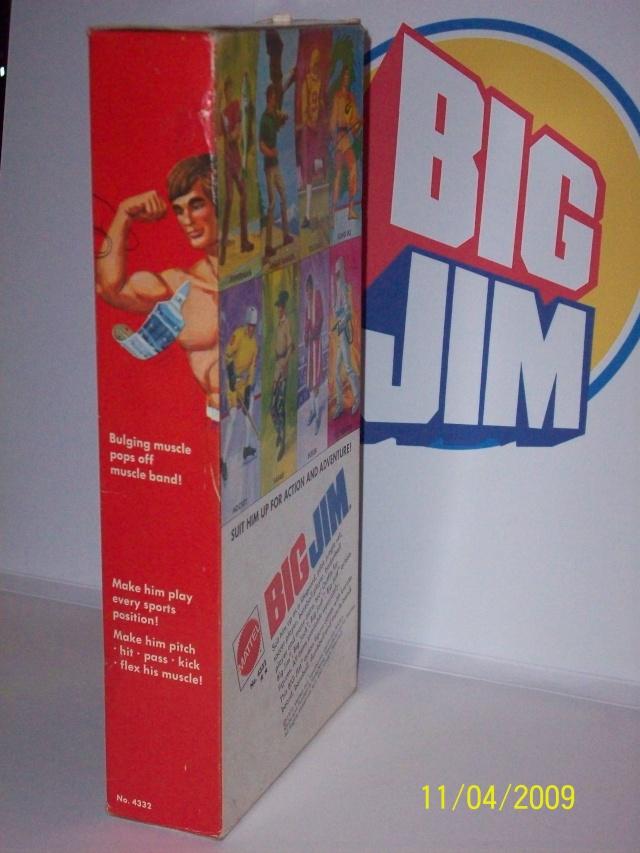 BIG JIM  No. 4332 - seconda versione a Box largo -  C1310