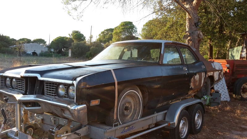Question à propos d'une Ford galaxie custom 500 de 1971 20150810