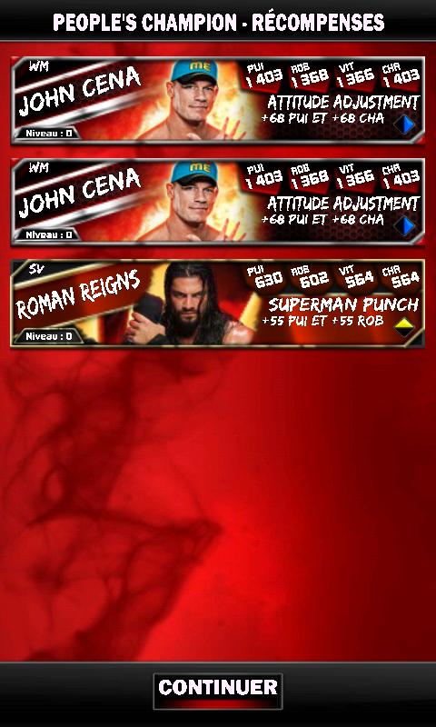 PCC #2 - John Cena VS Seth Rollins Screen16