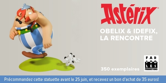 Figurine Faribole - La rencontre entre Obélix et Idéfix - 2015 Imagep10