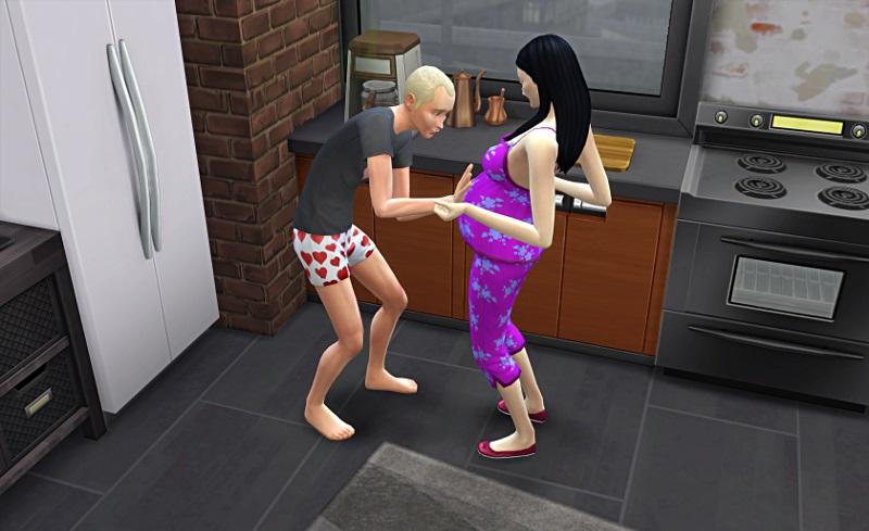 [Challenge] Tranches de Sims: La métamorphose de Sylvain; par Bretagne22 1a12