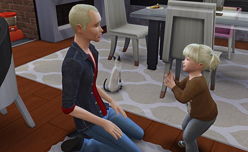 [Challenge] Tranches de Sims: La métamorphose de Sylvain; par Bretagne22 1f10