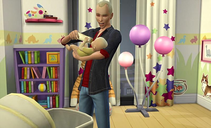 [Challenge] Tranches de Sims: La métamorphose de Sylvain; par Bretagne22 1i11
