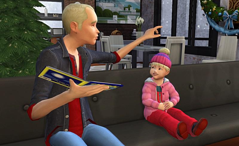 [Challenge] Tranches de Sims: La métamorphose de Sylvain; par Bretagne22 1m10