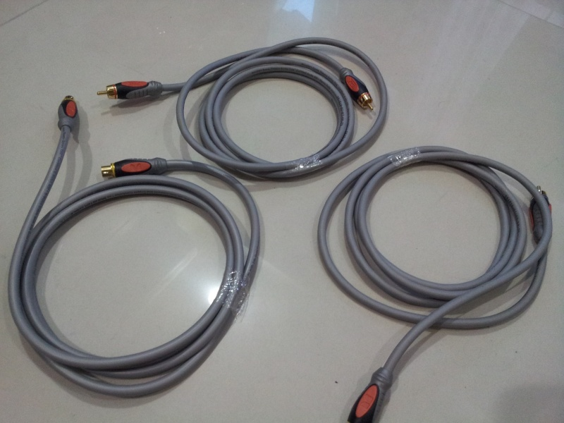 Monster THX Certified Stereo RCA Interconnect Cables ( NOS)