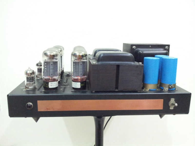 Vintage Bogen MO-200A Stereo 100 Watts Vacuum Tube Power Amplifier  ( Used) 20150837