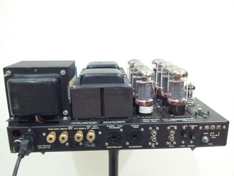 Vintage Bogen MO-200A Stereo 100 Watts Vacuum Tube Power Amplifier  ( Used) 20150839