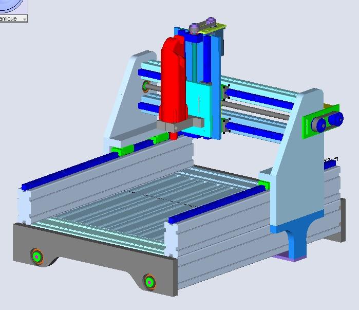 Une CNC pour Patrick A1010