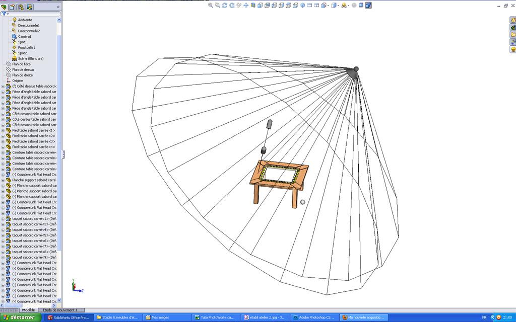 [SolidWorks] Les rendus sous PhotoWorks. Tuto_p12
