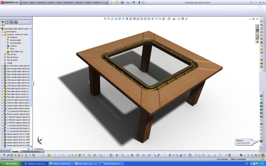 [SolidWorks] Les rendus sous PhotoWorks. Tuto_p19