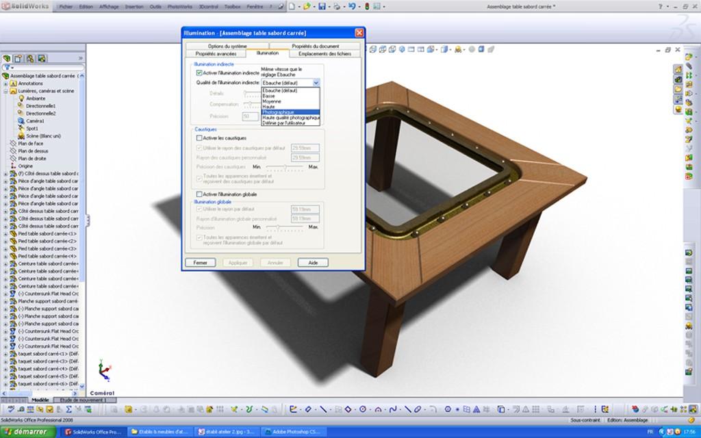 [SolidWorks] Les rendus sous PhotoWorks. Tuto_p20