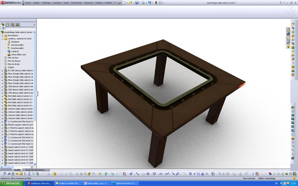 [SolidWorks] Les rendus sous PhotoWorks. Tuto_p23