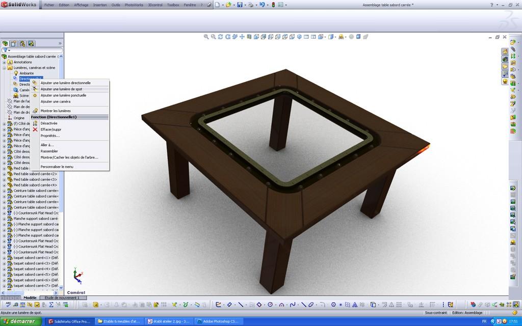 [SolidWorks] Les rendus sous PhotoWorks. Tuto_p26