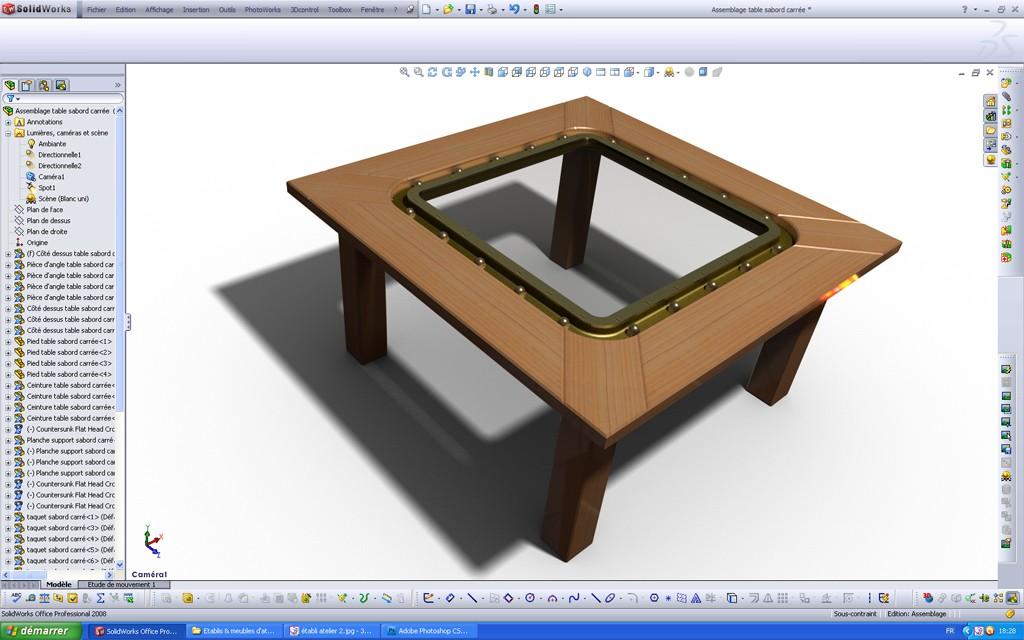 [SolidWorks] Les rendus sous PhotoWorks. Tuto_p27