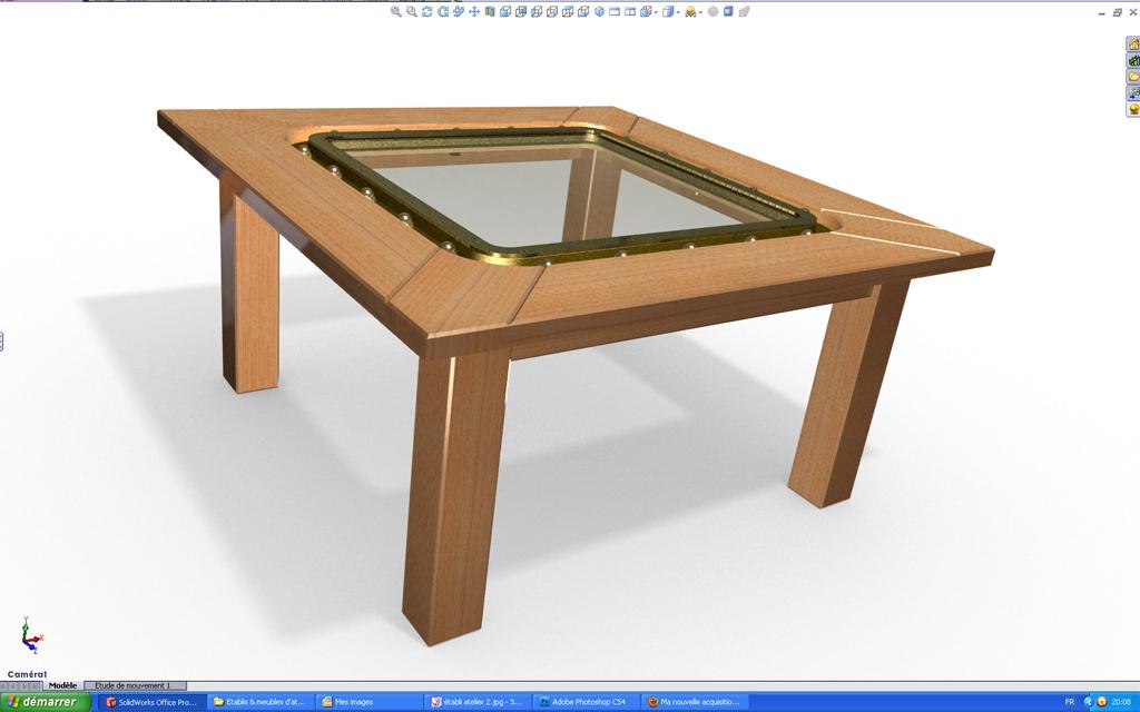 [SolidWorks] Les rendus sous PhotoWorks. Tuto_p28