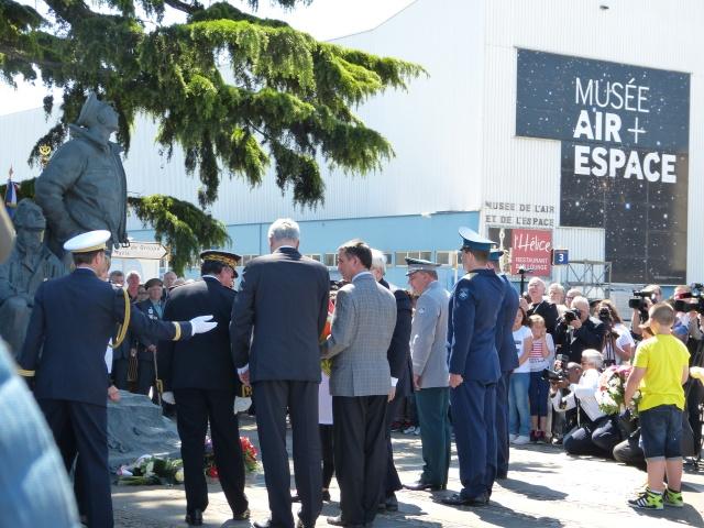 Inauguration de l'Espace Normandie Niemen au Musée de l'Air et de l'Espace du Bourget Espace17