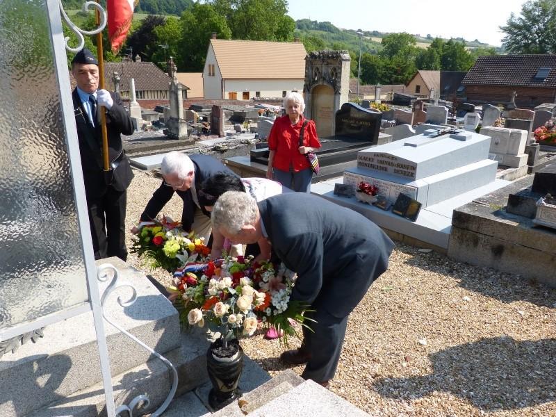 Cérémonie annuelle, hommage Marcel LEFEVRE 5 juin 2015 P1050211