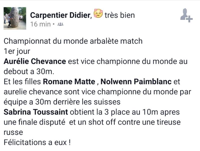 Championnats du monde arbalète 2015 Carpen10