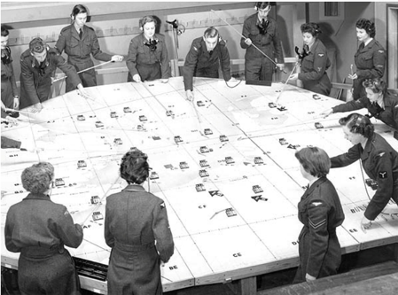 La détection accoustique pendant la seconde guerre mondiale. Kflow110