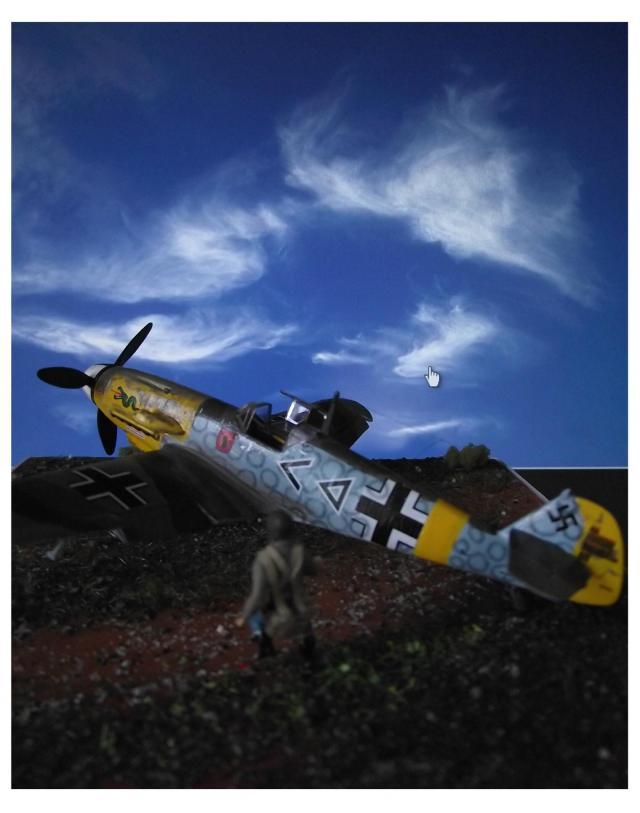 MESSERSCMITT Bf109 f2  DE HANS VON HAHN A-49e712