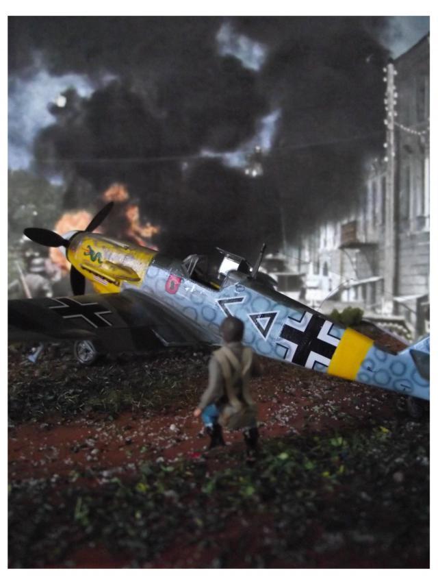 MESSERSCMITT Bf109 f2  DE HANS VON HAHN C-49e710